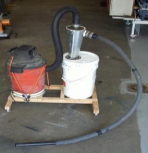 DIY Cyclone Dust Separator by Dan Clark