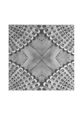Retro BW silk square: What a beautiful product!
