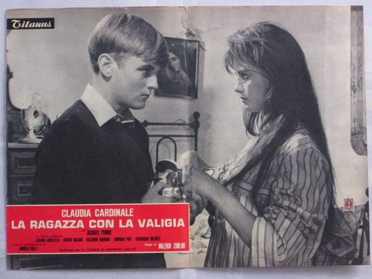 fotobusta-LA RAGAZZA CON LA VALIGIA-CLAUDIA CARDINALE-ZURLINI-DRAMMA-@22044 | eBay