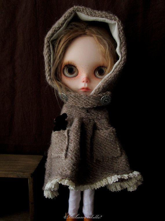 Blythe Doll outfit / Dress 1/6 doll size / by Dakawaiidolls, $63.00