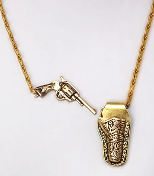 cute!Guns Holster, Fashion, Style, Holster Necklaces, Jewelry, Things, Jewels, Accessories, White Gold