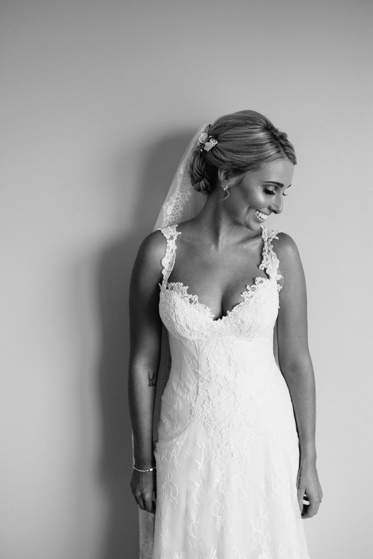 Louise Anderson dress + babe'n bride = winner!  Abbey & James - A French Farm Wedding - Kelly Shakespeare Photography