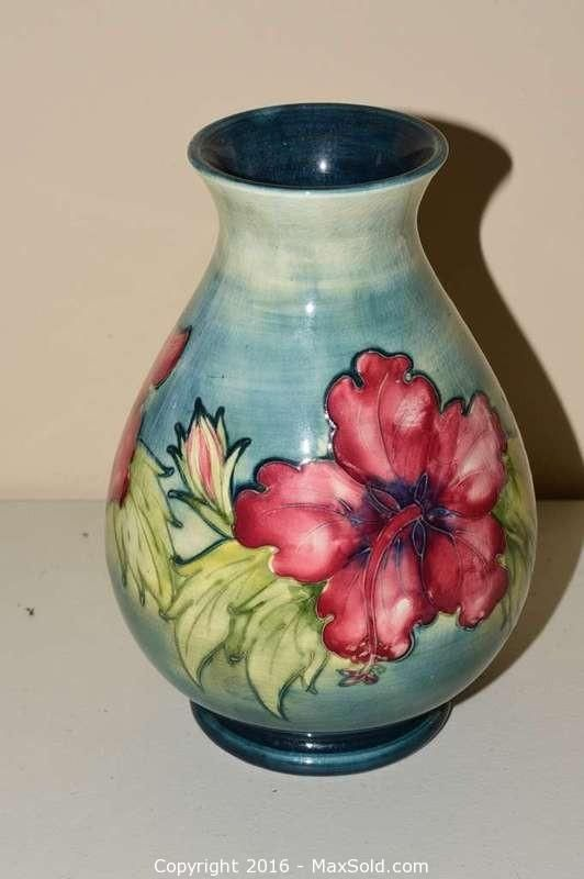Moorcroft Jar Sold on MaxSold for $175