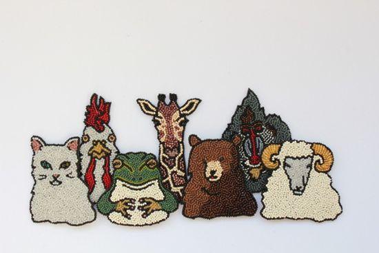 animals by Moko Kobayashi