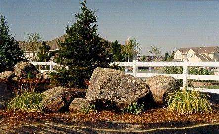 Boulder Landscaping