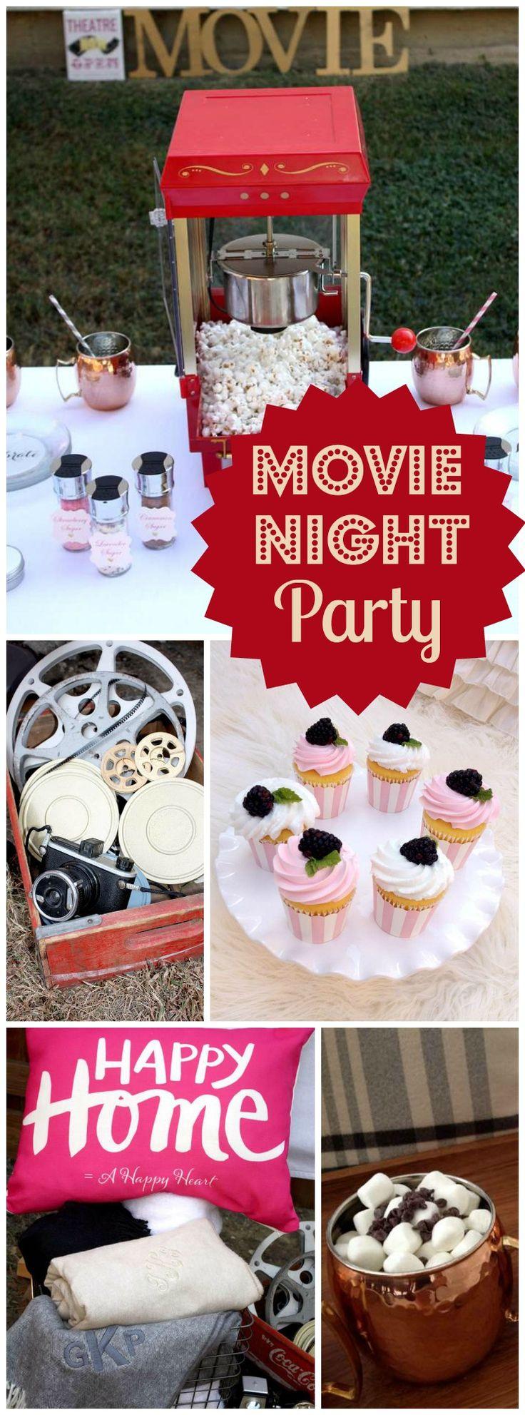 197 best movie night party ideas images on pinterest birthday