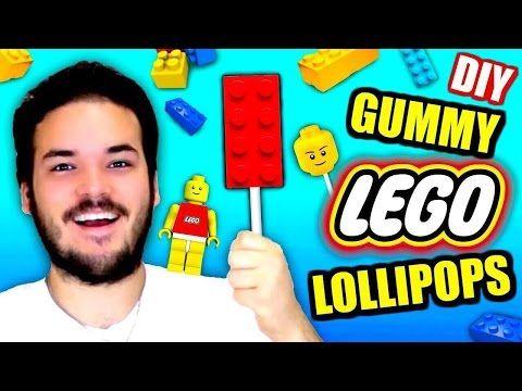 DIY Gummy Lego Lollipops! - Eat Jelly Legos! - How To Make ...
