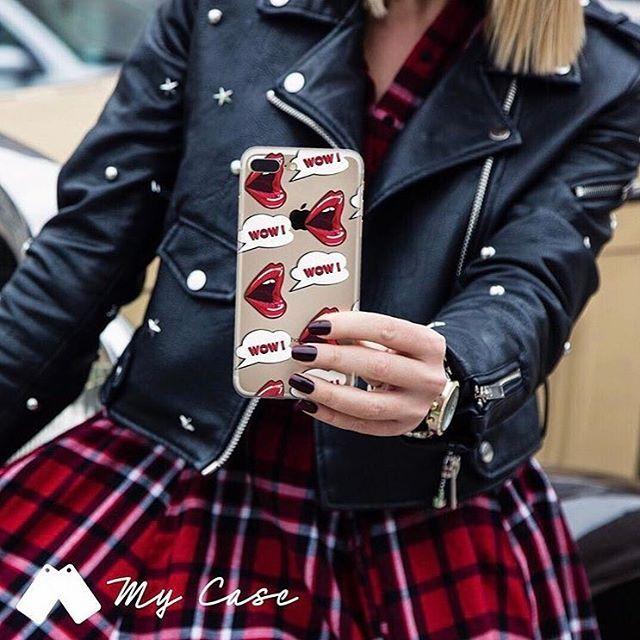 Wow!!!💋✨Ordina subito www.mycase-online.it #mycaseitaly #phonecase #cover#fashion