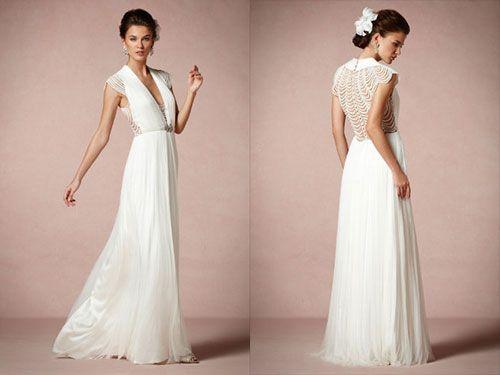 Community Post: 25 Dazzling Art Deco Wedding Gowns