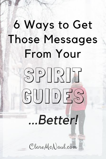 Your spirit guides are very eager to let you know that they are a  part of your life and are always trying to send you information to help you on your journey.   How can you get into the habit of receiving those messages better?