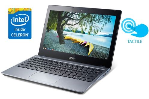 PC portable Acer Chromebook C720P prix promo Darty 269.90 € TTC.