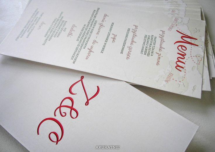 MIŁOSNE (OD)LOTY wedding invitations by AKURATNIE kwiaty     www.akuratnie.com.pl  www.facebook.com/akuratnie.kwiaty  www.instagram.com/akuratnie.dw