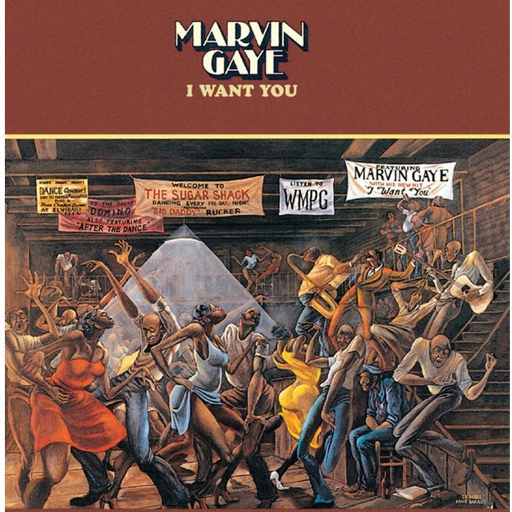 Marvin Gaye - I Want You Reissued on 180g Vinyl LP