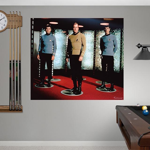 Star Trek: The Original Series Crew Mural - Star Trek - Entertainment