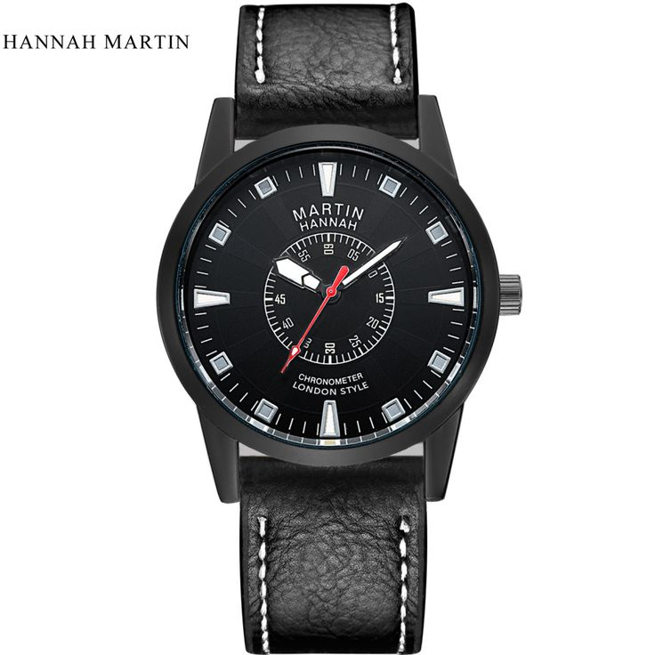 $9.30 (Buy here: https://alitems.com/g/1e8d114494ebda23ff8b16525dc3e8/?i=5&ulp=https%3A%2F%2Fwww.aliexpress.com%2Fitem%2FHannah-Martin-Luxury-brand-men-outdoor-sport-watches-casual-men-s-quartz-leather-strap-waterproof-watch%2F32798238635.html ) Hannah Martin Luxury brand men outdoor sport watches casual men's quartz leather strap waterproof watch wristwatches male clock for just $9.30