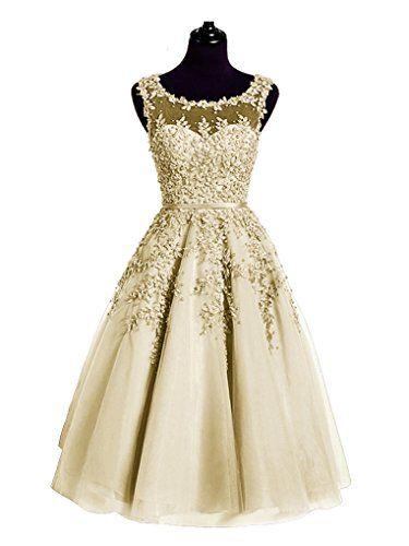 bc56dc8cb1e Beauty-Emily Abendkleider Quinceanera Teenager Chiffon Neue Model Mit  ärmellos O Ausschnitt Tüll mit Perlen