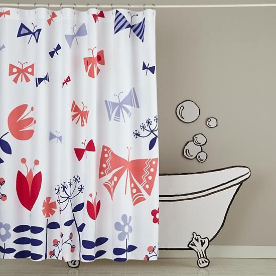Wildflower Shower Curtain.