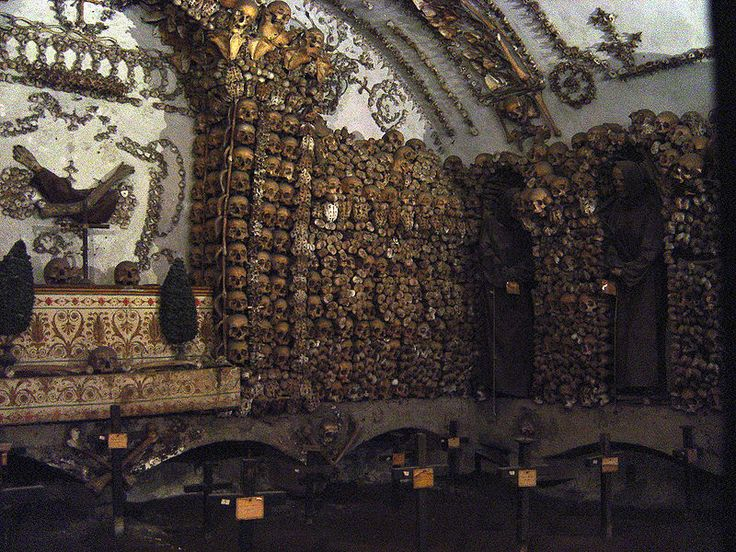Tomb of the Capuchin Monks.  Visited this in Rome.  Very interesting.  Photo by stanthejeep