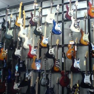 Ron's Dream Guitar room!