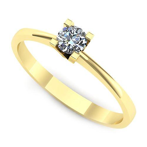 Inel logodna L30GDI Inel cu diamant