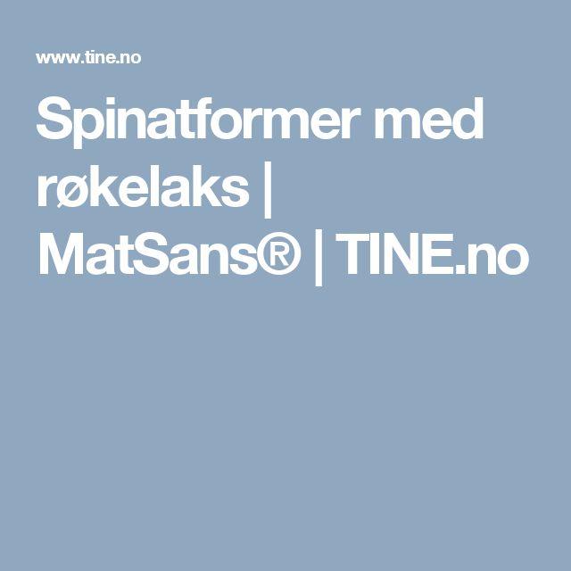 Spinatformer med røkelaks   MatSans®   TINE.no