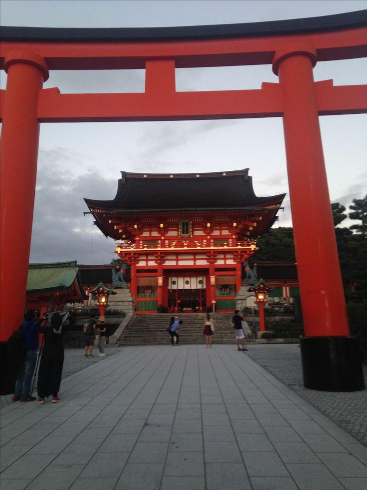 Fushimi Inari-taisha in Kyoto, Japan