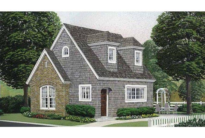 This Unique Cottage Has A Loft Tiny Plans Pinterest