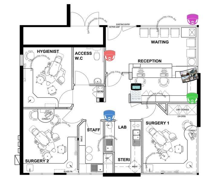 Dental Surgery Floor Plans