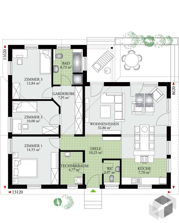 Dieses Und Viele Häuser Mehr Gibt Es Auf Fertighaus.de U2013 Ihr Hausbau Aus  Einer · Floor PlansHouse ...
