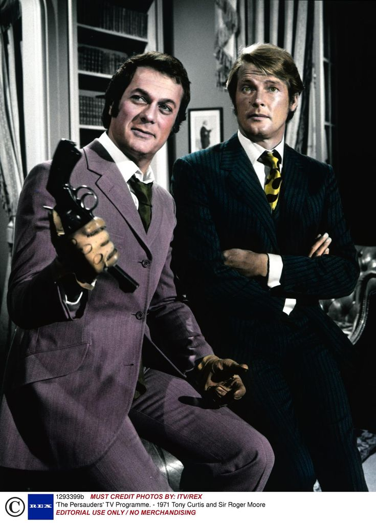Roger Moore and Tony Curtis in The Persuaders!, 1970-71