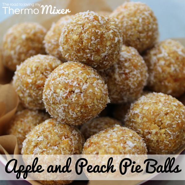 This recipe is loosely based on my Apple Crumble Balls that were featured in The Healthy Issue of the The 4 Blades TMX magazine. My kiddies love anything in