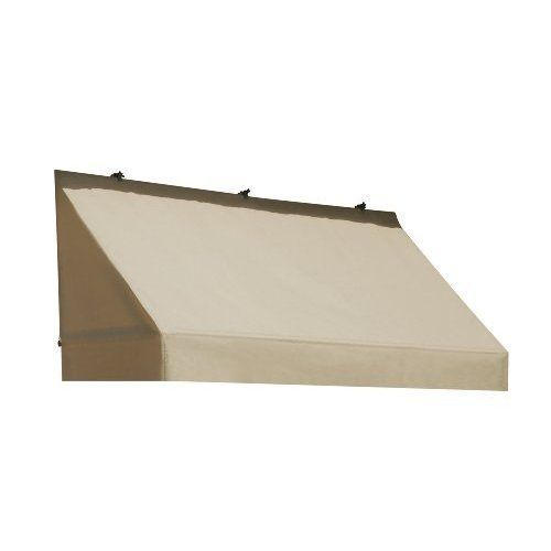 Replacement Cover for Classic Door Canopy - Sand - Size: 8' by Sunsational Products. $203.13. mfr: Sunsational Products Door Canopy in a Box, Classic Door Canopy Replacement Cover features three sided classic straight edges with Sunsational Select fabric one of the highest quality Marine Grade, mildew resistant, PU coated, 100% DTY solution dyed acrylic finished fabric with Teflon, on the market today. The Classic Door Canopy Replacement Cover allows you to change the l...