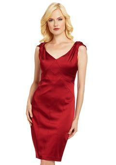 Jax red cap sleeve sheath dress | Fashion | Pinterest
