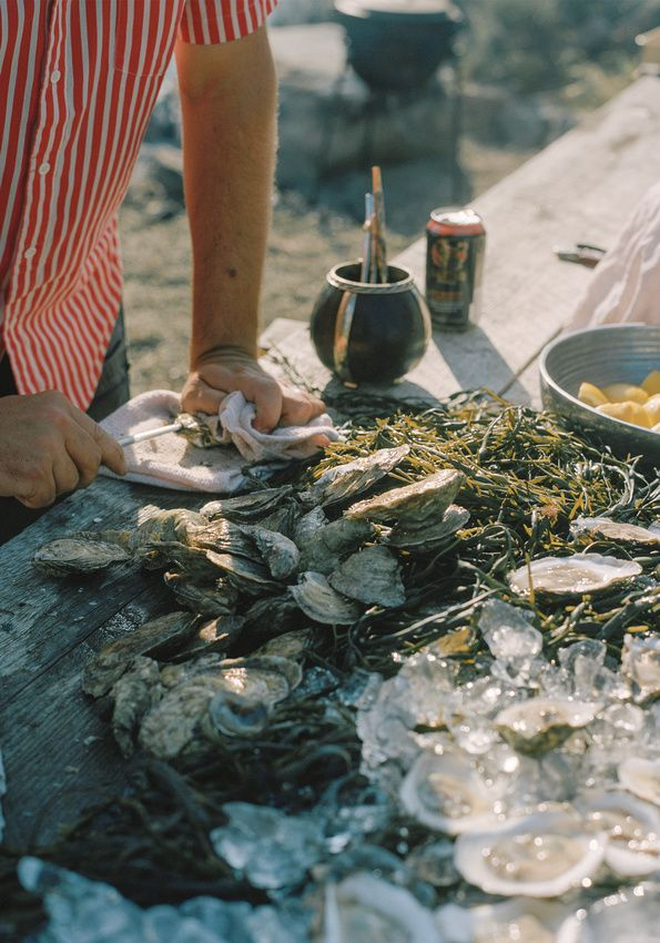 oysters and mate? I like your style! Photo by Brian Ferry