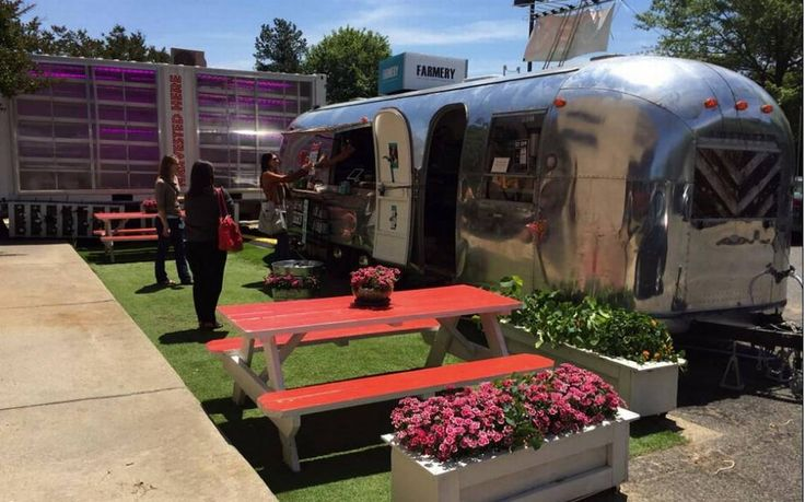 The Farmery is moving its Airstream trailer and indoor farm from Research Triangle Park to Durham.