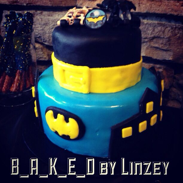 Best Batman Birthday Party Images On Pinterest Batman - Dark knight birthday cake