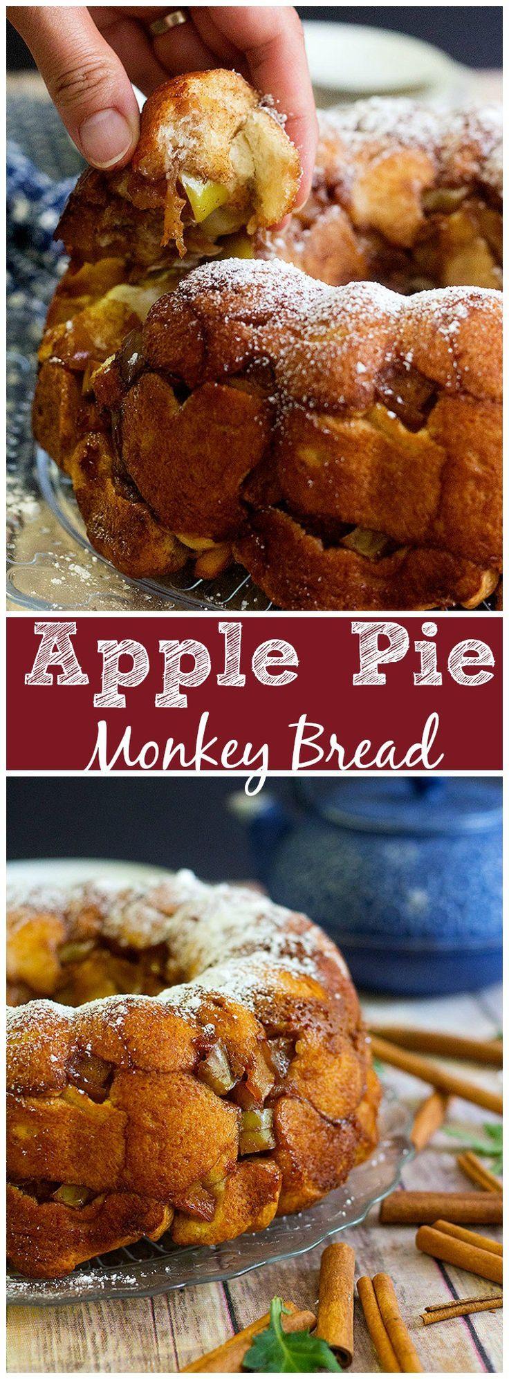 Apple Pie Monkey Bread | Apple Pie Monkey Bread recipe | Apple Pie Monkey Bread simple | Apple Pie Monkey Bread muffins