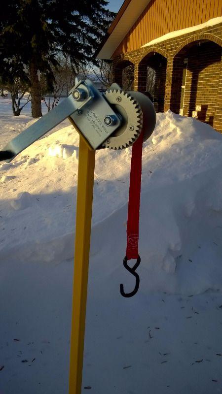 BEST SNOWMOBILE LIFT/STAND EVER! | Snowmobiles Parts, Trailers & Accessories | Winnipeg | Kijiji