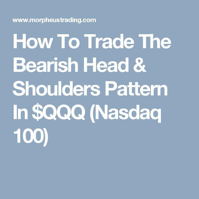 How To Trade The Bearish Head & Shoulders Pattern In $QQQ (Nasdaq 100)