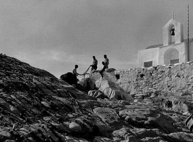 Μύκονος 1962 φωτ. Hubertus Hierl
