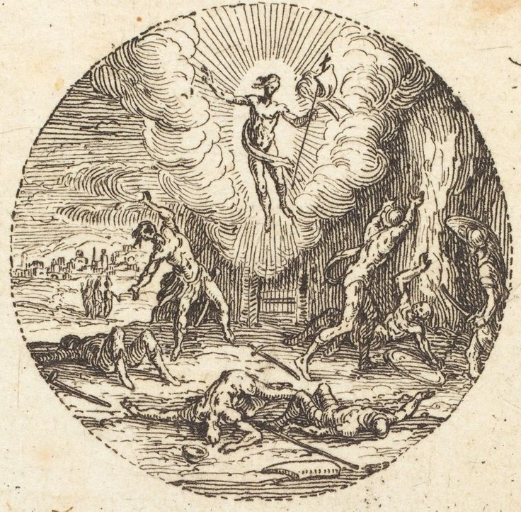 Image result for jacques callot the resurrection