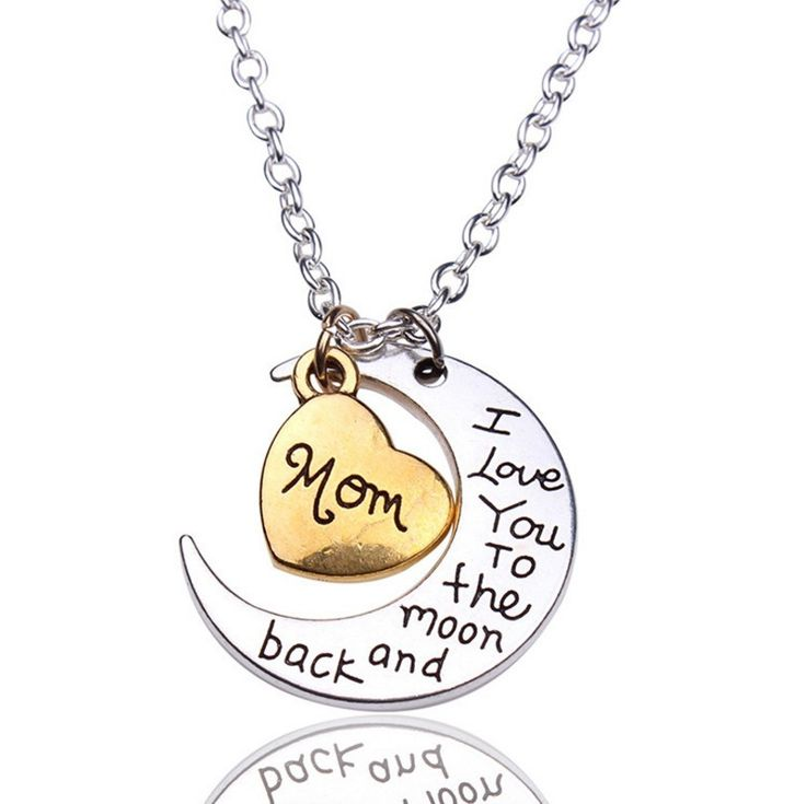 "Trendy ""I Love You To The Moon And Back"" Necklace - Giveaway – AviD DivA"