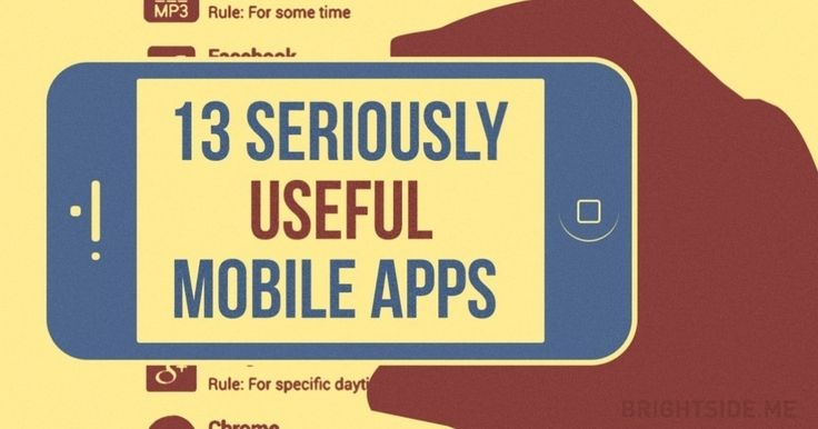 13totally useful mobile apps tomake your life easier