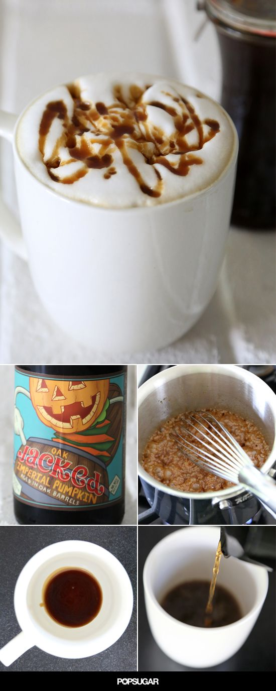 The Ultimate Halloween Beverage: A Butterbeer Latte