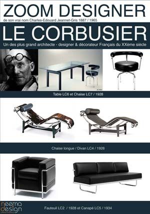 Le Corbusier- icons of the 20th Century