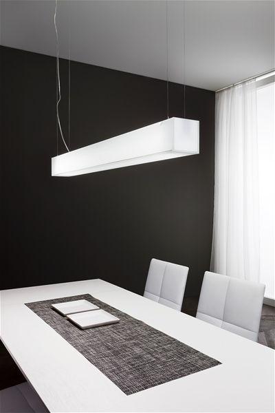 Gluèd sospensione rettangolare - Linea Light  - Lampadari Sospensione - Progetti in Luce