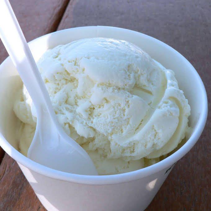 Easy Vanilla Ice Cream For 1 5 Quart Ice Cream Maker Recipe Yummly Recipe Ice Cream Maker Recipes Vanilla Ice Cream Homemade Vanilla Ice Cream