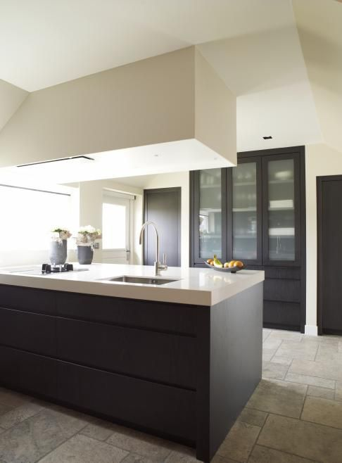 Clean, modern, concrete. barefootstyling.com