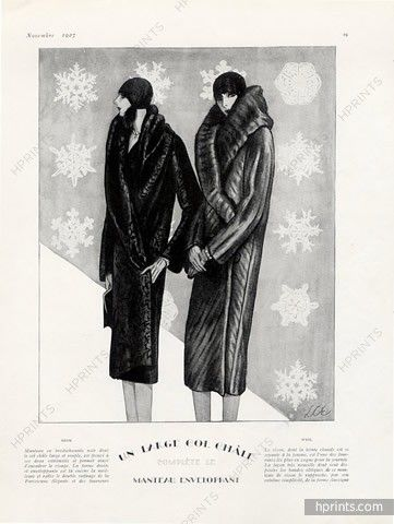 Weil & Jacques Heim (Fur Coats) 1927 Lee Creelman Erickson