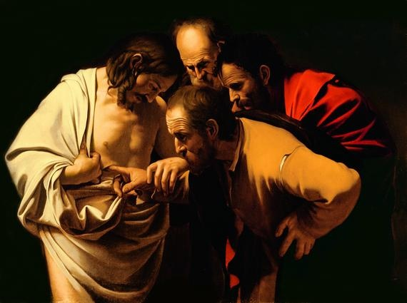 Scars never disappear, scars might heal and we might forget about them in time but there permanent not even Jesus lost his scars  The Incredulity of St. Thomas